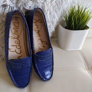 🆕 Sam Edelman blue moccasins